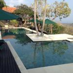 Villa Jepun - fabulous private pool with stunning views
