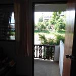View out of veranda door