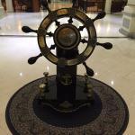 Alat pengemudi kapal di dalam hotel