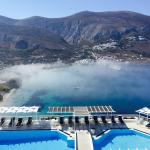 Hiking in the mountains - night view from the Spa-raspberry mojito &more from Peter by the pool-