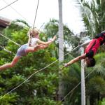 "Flying Trapeze Adventure ""Learn to Fly"" Catch me if you can"