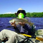 Redfish caught with Dominic Greco and Kayak Charters