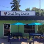 West Bay Diner, West Bay, Grand Cayman. Great staff, great food... Join for breakfast, lunch, di