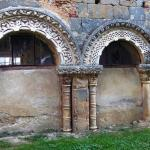 Restes du cloître du XIème siècle