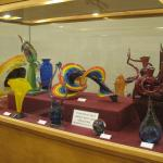 Chihuly glass exhibit (students work)