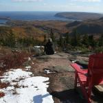 View of Ingonish from Franey Hike