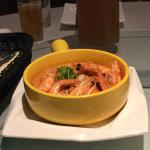 Shrimp in a spicy sauce