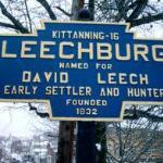 Entrance to Leechburg Borough