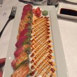 Rainbow Roll at Simply Thai; DELICIOUS!!!!