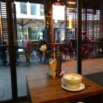 Großer Cafe Latte.