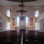 Interior of Christ Church, Alexandria, VA