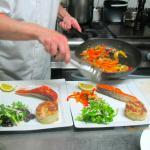 Délicieux pavés de saumon