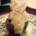 Baked Caramel Stuffed Apple w/Housemade Ice Cream