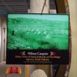 Wound Knee Museum Exhibit