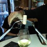 Service du Vin - Bouchon sur la bouteille