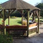 Gazebo with beautiful views