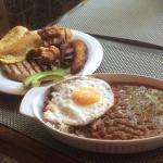 Sehr leckere kolumbianische Spezialitäten