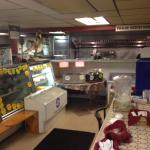 Deli and prep area