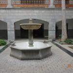 la cour de la mairie