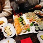 loved the selection of sushi