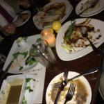 The family DEMOLISHED everything.  Tells you how good!