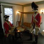 Inside the British Headquarters