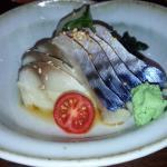 sashimi saba