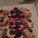 Family dessert tray