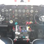 Cockpit of the DC-3