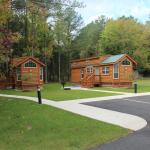 These two cabins are away from the others and could work perfectly for a large family.