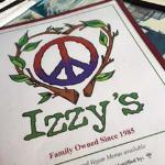 Menu Cover - the 70's look