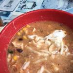 Half Consumer Tortilla Soup - never reached the bottom!
