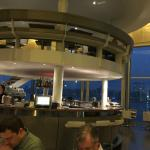 Center bar with view in background