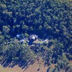 Aerial view of Weltevreden Domes Retreat