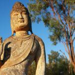 Buddha statue on the mountain