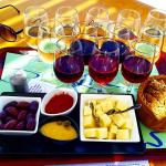 Santo winery - only 22 euro for the flight