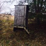 Old mans haven outhouse
