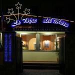 Ingresso Hotel con vista ristorante...