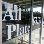 ALL PLATE $3.30