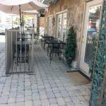Patio dining at Rinaldi's