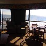 lovely oceanfront suite