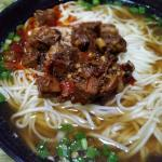 delicious beef noodles at an affordable price