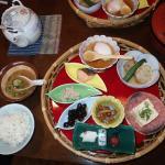 petit déjeuner typiquement japonais