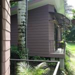 El balcón de las habitaciones nuevas