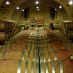 The wine cellar....