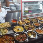 Wide variety of dishes