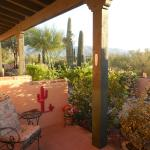 porch area of the Saguaro room