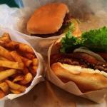 Amazing burgers and home cut fries