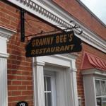 Entrance to Granny Bee's