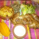 Rognons grillés et côte de veau